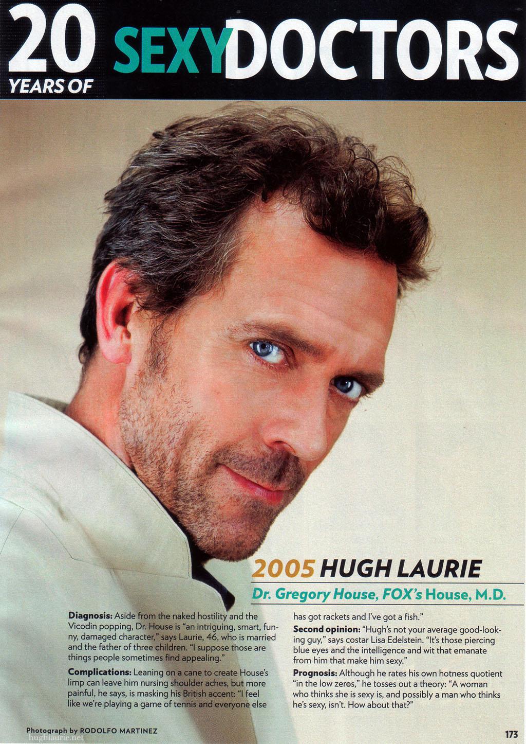 the photo of hugh laur...